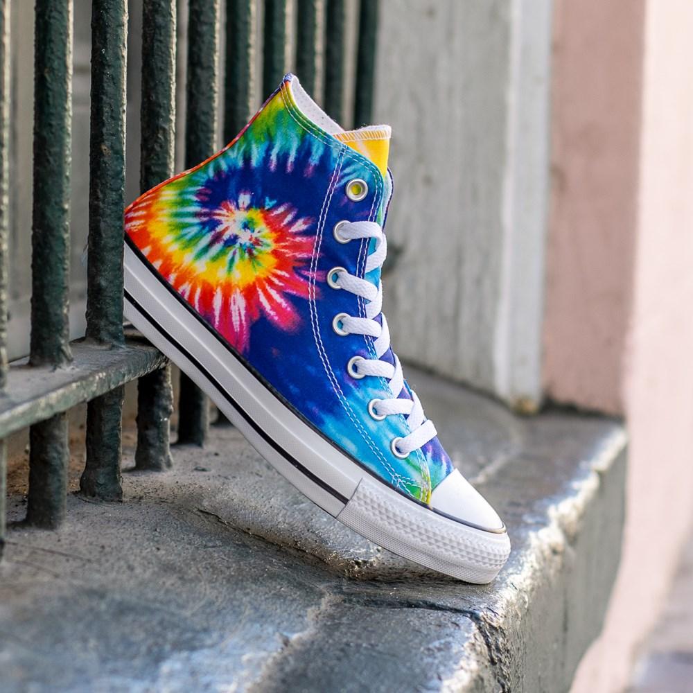 Converse Chuck Taylor All Star Hi Tie Dye Sneaker Multi