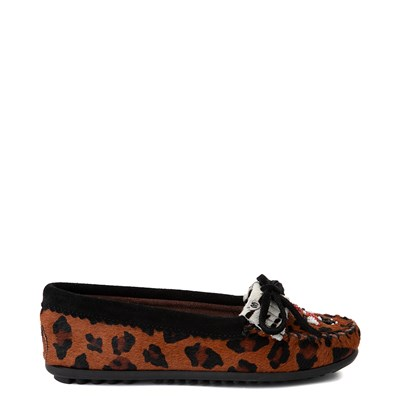 Main view of Womens Minnetonka Thunderbird 2 Casual Shoe - Leopard