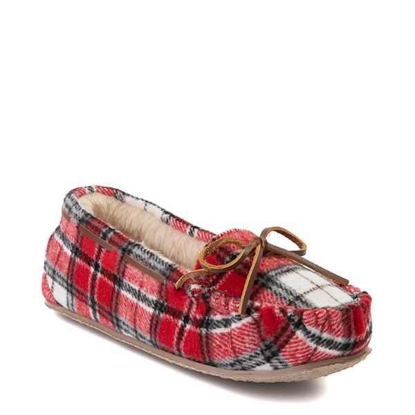 Alternate view of Womens Minnetonka Cally Plaid Slipper