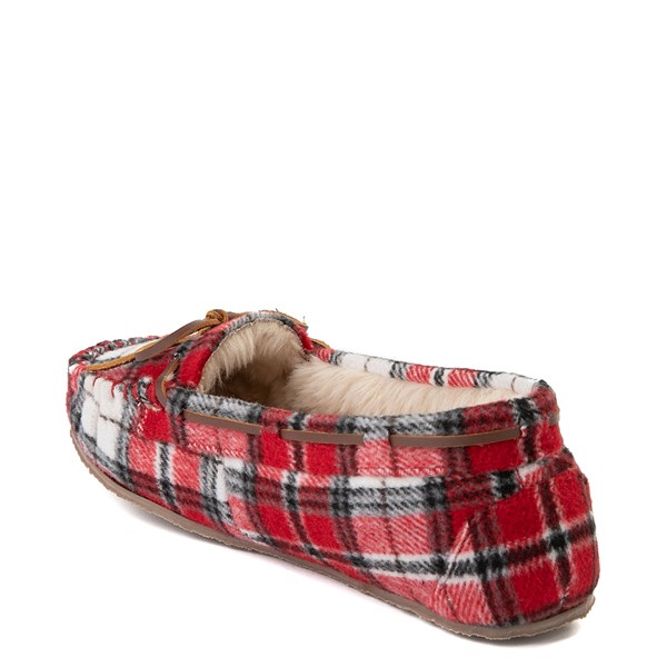 alternate view Womens Minnetonka Cally Plaid SlipperALT2
