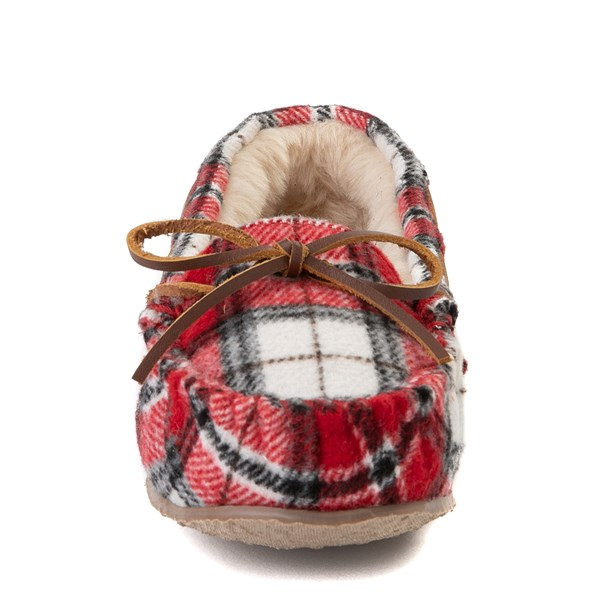 alternate view Womens Minnetonka Cally Plaid SlipperALT4