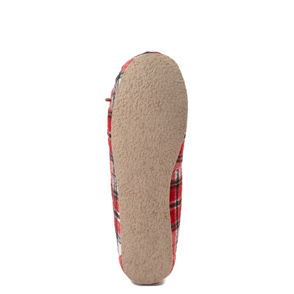alternate view Womens Minnetonka Cally Plaid SlipperALT5