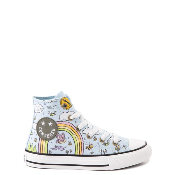 Main view of Converse Chuck Taylor All Star Hi Camp Converse Sneaker - Little Kid / Big Kid - Agate Blue