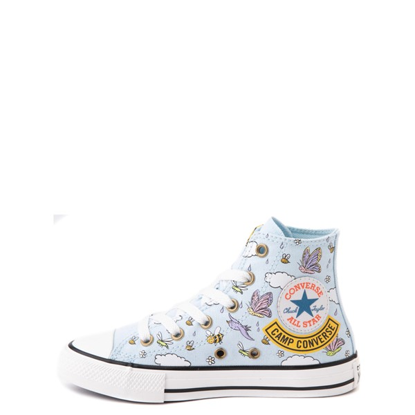 alternate view Converse Chuck Taylor All Star Hi Camp Converse Sneaker - Little Kid / Big Kid - Agate BlueALT1