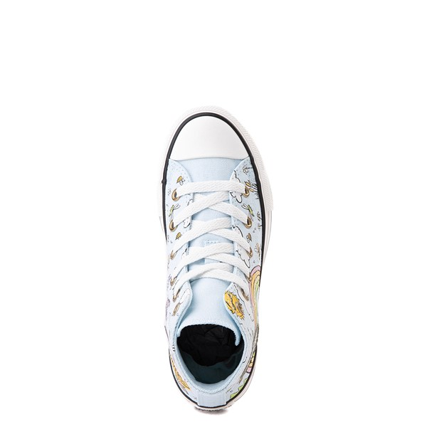 alternate view Converse Chuck Taylor All Star Hi Camp Converse Sneaker - Little Kid / Big Kid - Agate BlueALT4B
