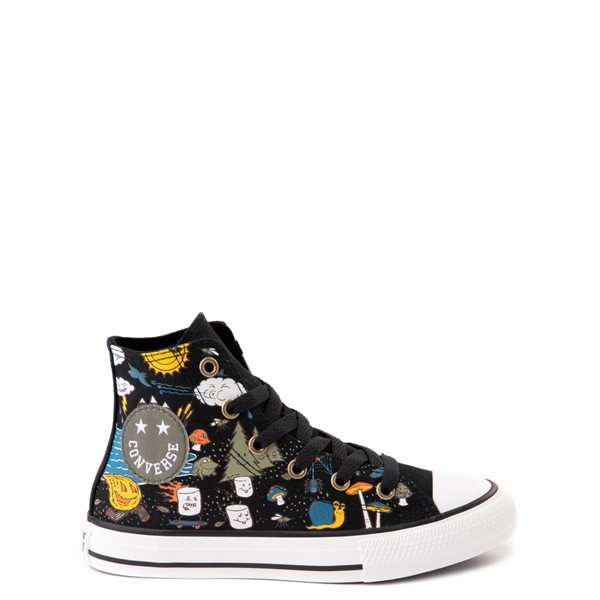 Converse Chuck Taylor All Star Hi Camp Converse Sneaker - Little Kid / Big Kid - Black