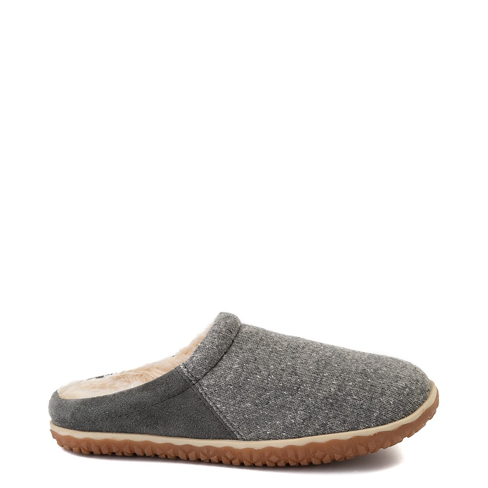 Womens Minnetonka Tahoe Mule - Gray