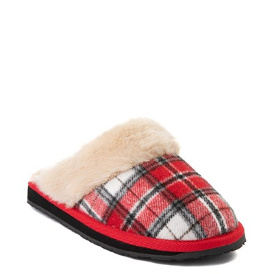 Alternate view of Womens Minnetonka Scuff Mule - Red / White