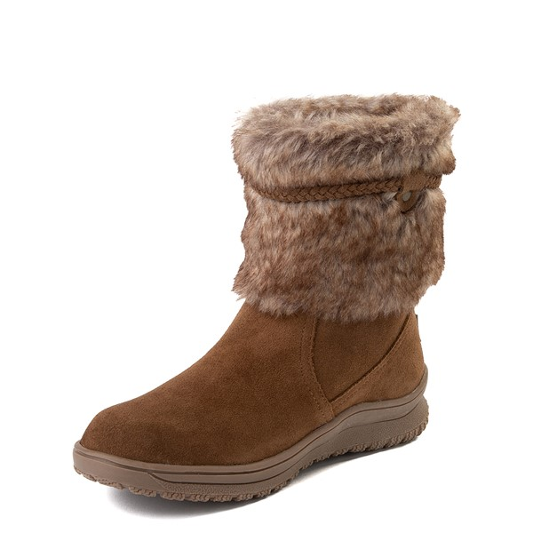 alternate view Womens Minnetonka Everett Boot - BrownALT2