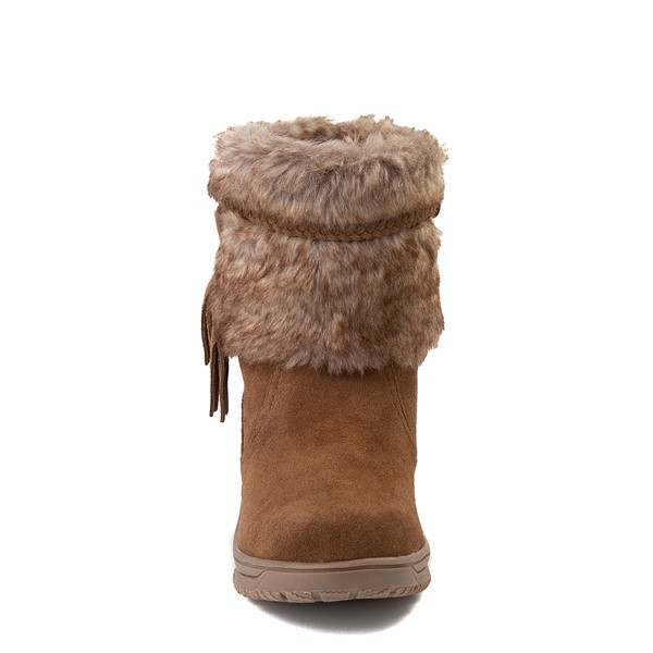 alternate view Womens Minnetonka Everett Boot - BrownALT4