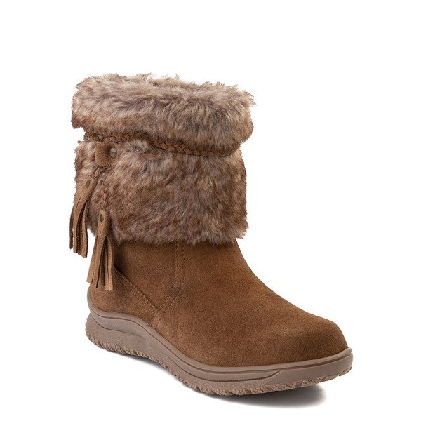 alternate view Womens Minnetonka Everett Boot - BrownALT5