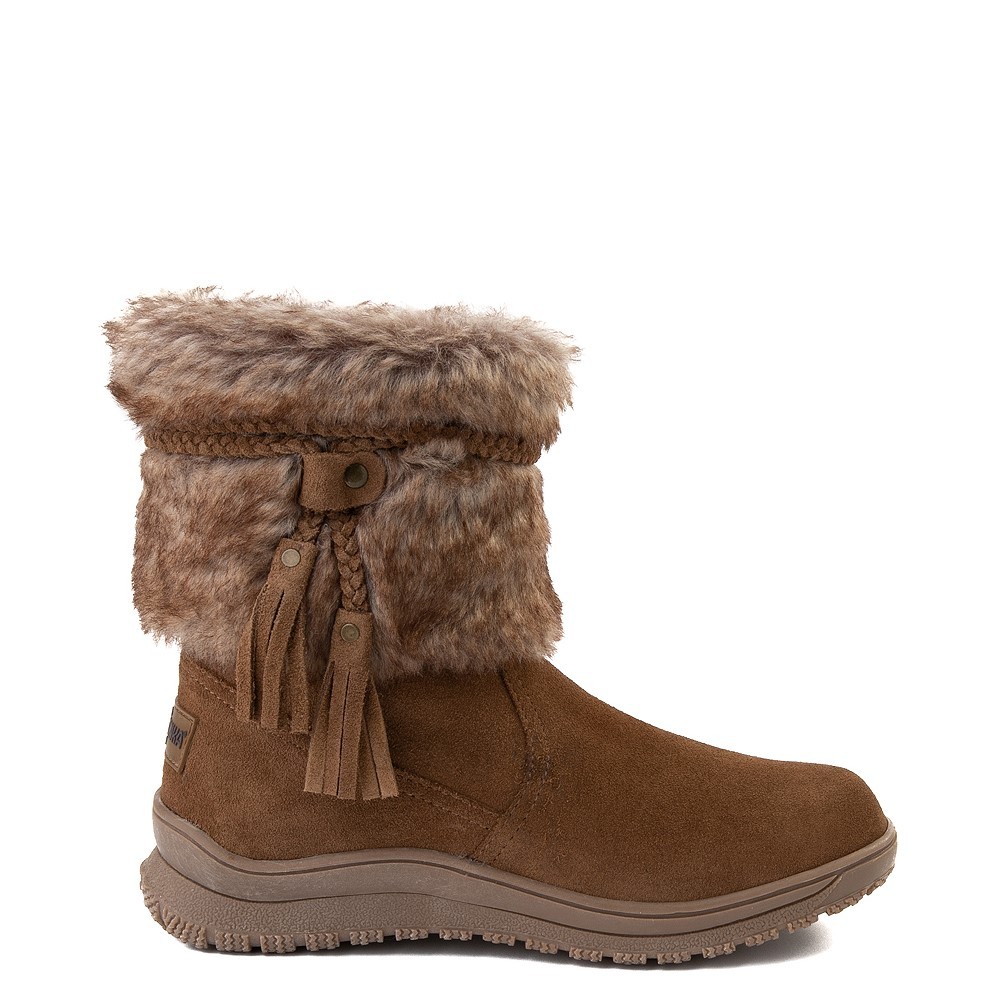 Womens Minnetonka Everett Boot - Brown