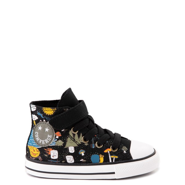 Converse Chuck Taylor All Star 1V Hi Camp Converse Sneaker - Baby / Toddler - Black