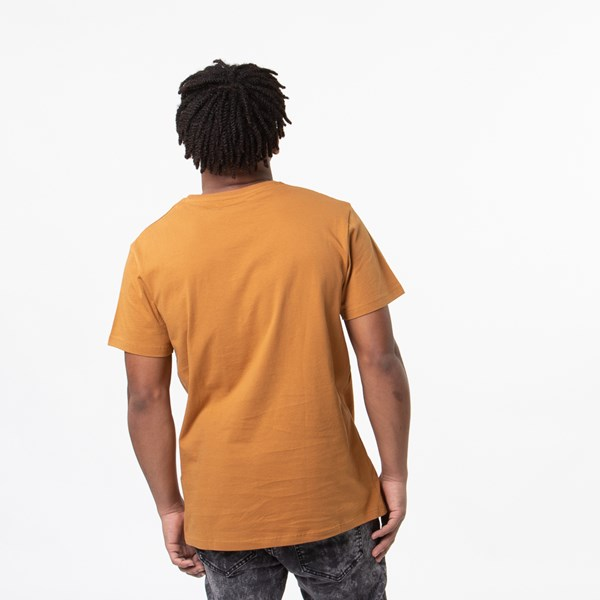 alternate view Mens Timberland Core Logo Crew Tee - WheatALT1