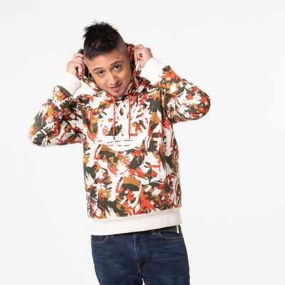 Main view of Mens Timberland Tree Logo Hoodie - Camo