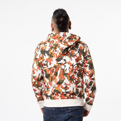 Alternate view of Mens Timberland Tree Logo Hoodie - Camo