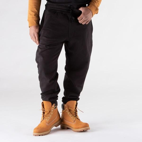 alternate view Mens Timberland Established Logo Sweatpants - BlackALT1