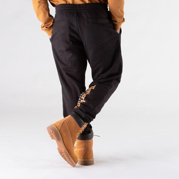 alternate view Mens Timberland Established Logo Sweatpants - BlackALT2