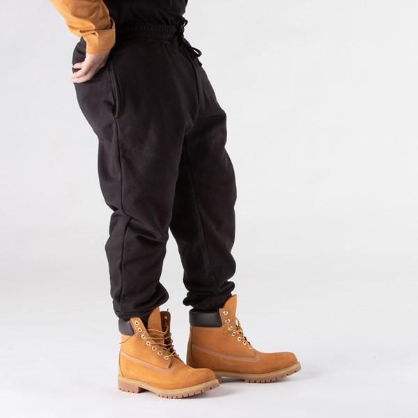 alternate view Mens Timberland Established Logo Sweatpants - BlackALT4