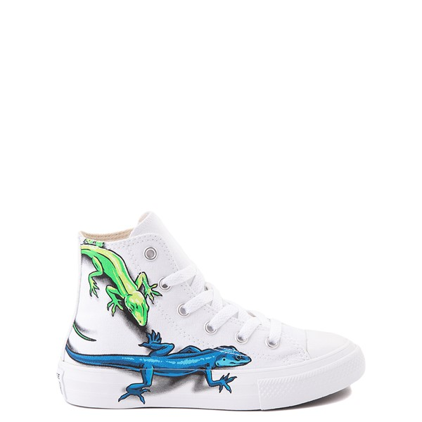 Converse Chuck Taylor All Star Hi Lizard Sneaker - Little Kid / Big Kid - White