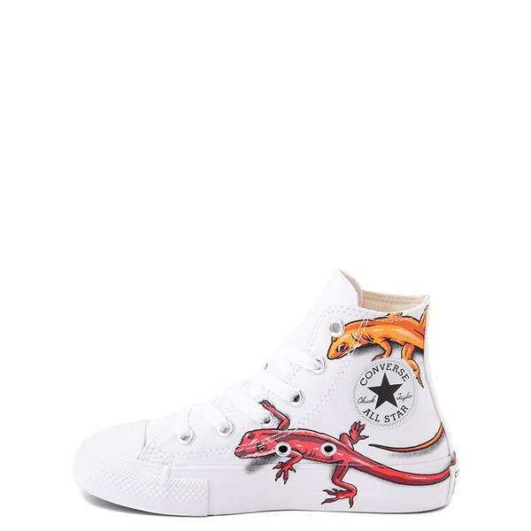alternate view Converse Chuck Taylor All Star Hi Lizard Sneaker - Little Kid / Big Kid - WhiteALT1