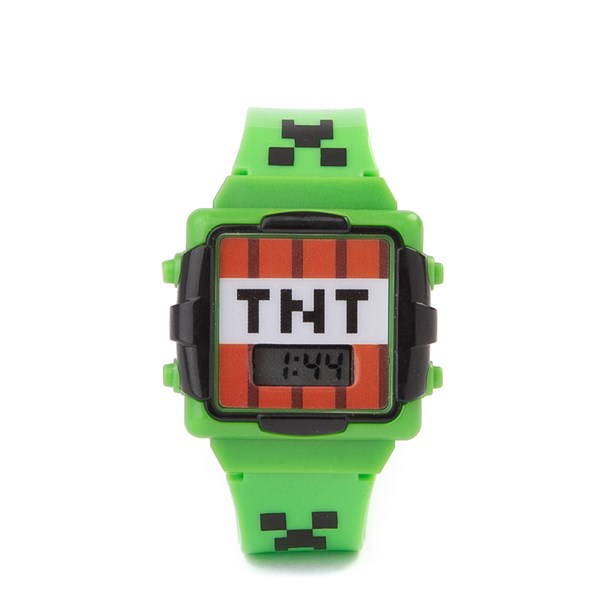 Main view of Minecraft TNT Watch - Green