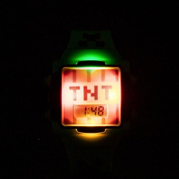 alternate view Minecraft TNT Watch - GreenALT1