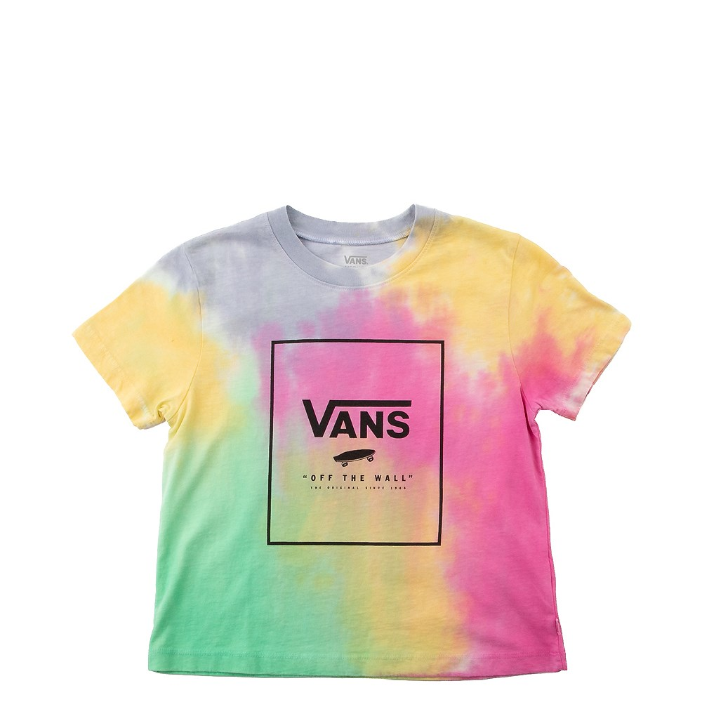 Vans Box Logo Ombre Wash Tee - Little Kid / Big Kid - Multicolor