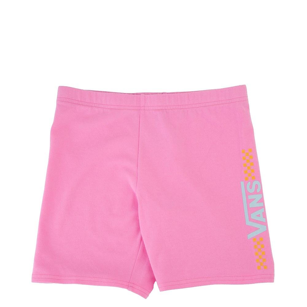Vans Funnier Time Bike Shorts - Little Kid / Big Kid - Fuchsia Pink