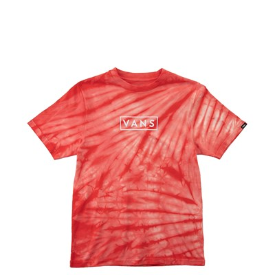 Main view of Vans Tie Dye Tee - Little Kid / Big Kid - Red