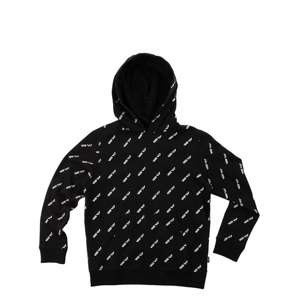 Vans Allover Logo Hoodie - Little Kid / Big Kid - Black