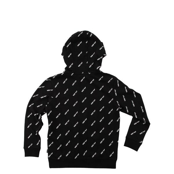 alternate view Vans Allover Logo Hoodie - Little Kid / Big Kid - BlackALT1