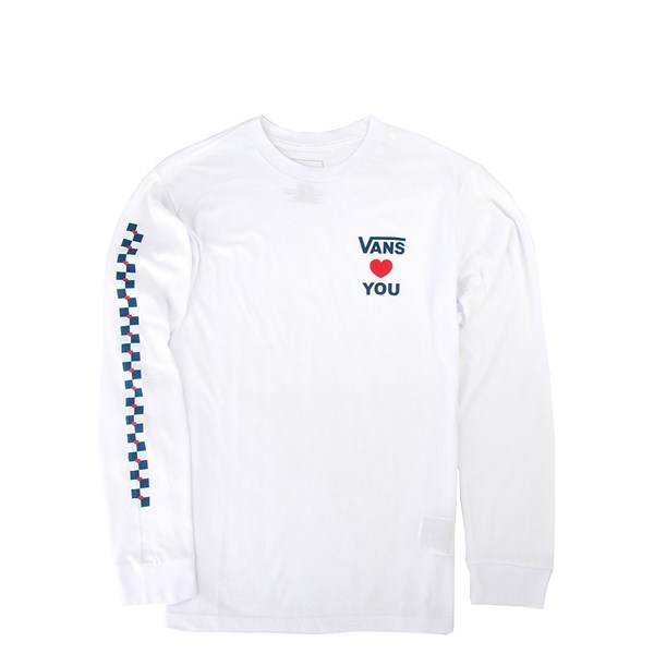 Vans Autism Awareness Long Sleeve Tee - Little Kid / Big Kid - White