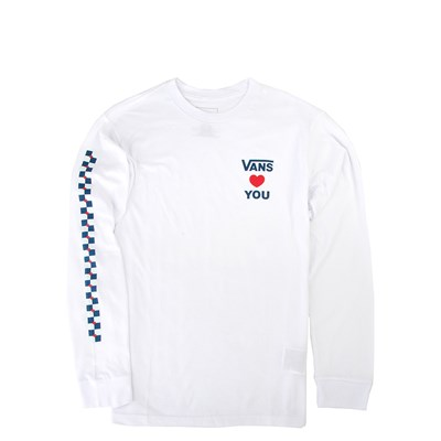 Main view of Vans Autism Awareness Long Sleeve Tee - Little Kid / Big Kid - White