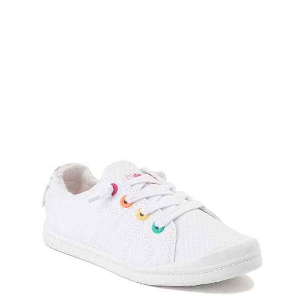 alternate view Roxy Bayshore Casual Shoe - Little Kid / Big Kid - WhiteALT1