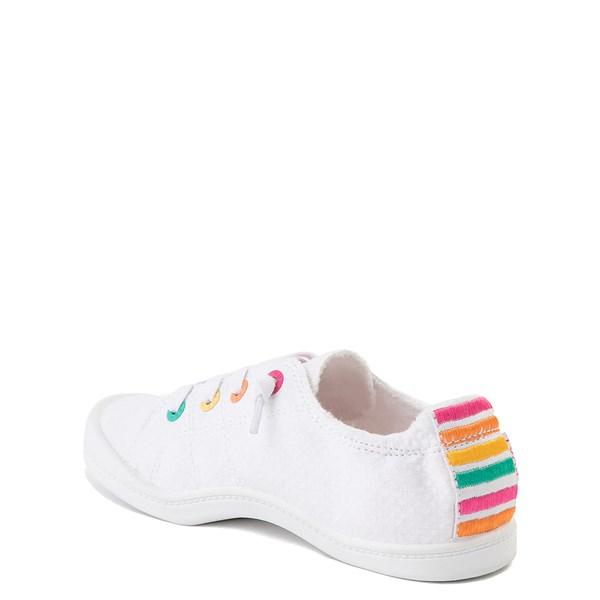 alternate view Roxy Bayshore Casual Shoe - Little Kid / Big Kid - WhiteALT2