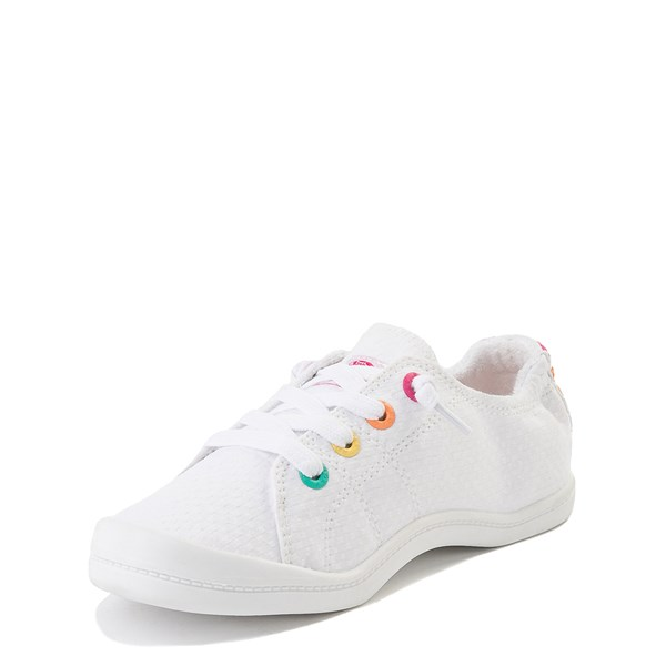 alternate view Roxy Bayshore Casual Shoe - Little Kid / Big Kid - WhiteALT3