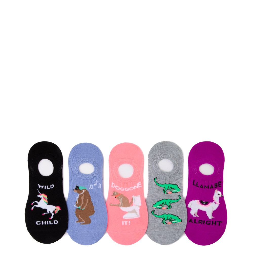 Womens Wordy Liners 5 Pack