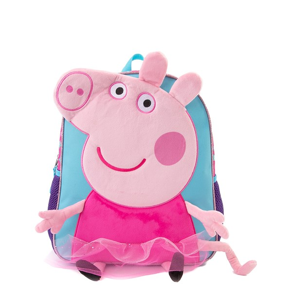 Main view of Peppa Pig Plush Mini Backpack - Pink