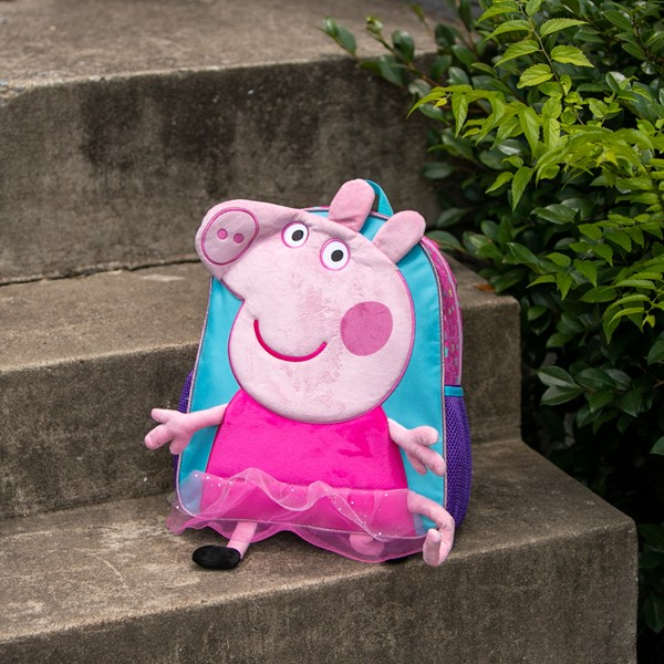 alternate view Peppa Pig Plush Mini Backpack - PinkALT1BB