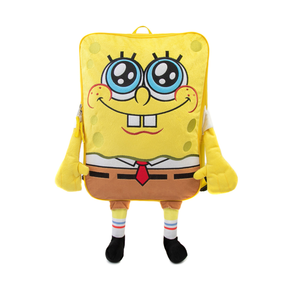 Main view of Spongebob Squarepants™ 3D Backpack - Yellow