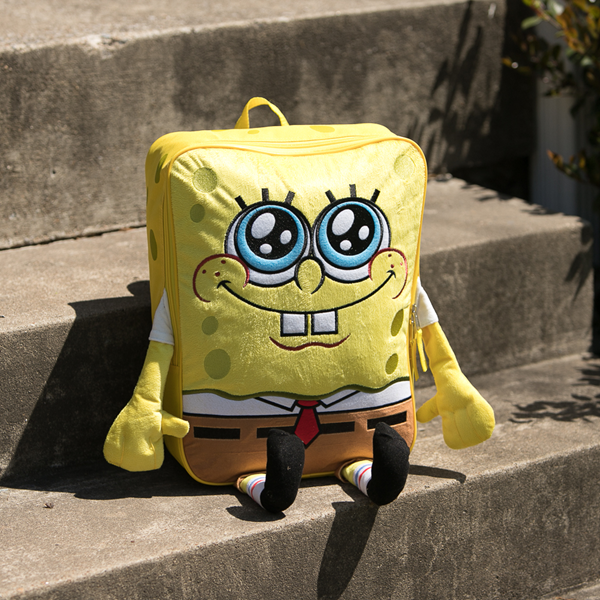 alternate view Spongebob Squarepants™ 3D Backpack - YellowALT1BB