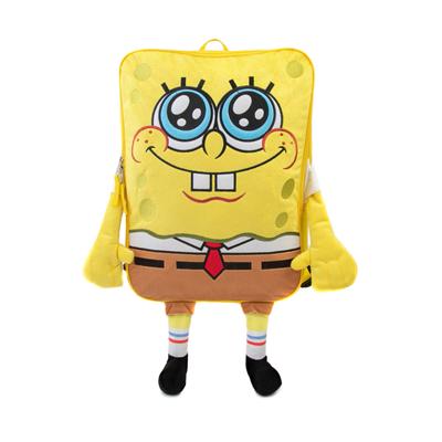 Main view of Spongebob Squarepants™ 3D Backpack - Yellow