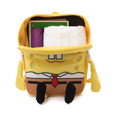 Alternate view of Spongebob Squarepants™ 3D Backpack - Yellow