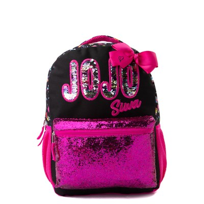 Main view of JoJo Siwa™ Sequin Bow Backpack - Pink
