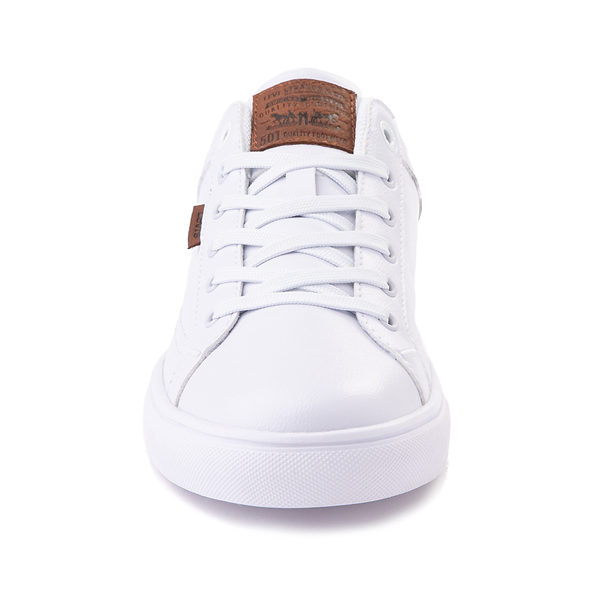 alternate view Mens Levi's 501® Jeffrey Casual Shoe - WhiteALT4