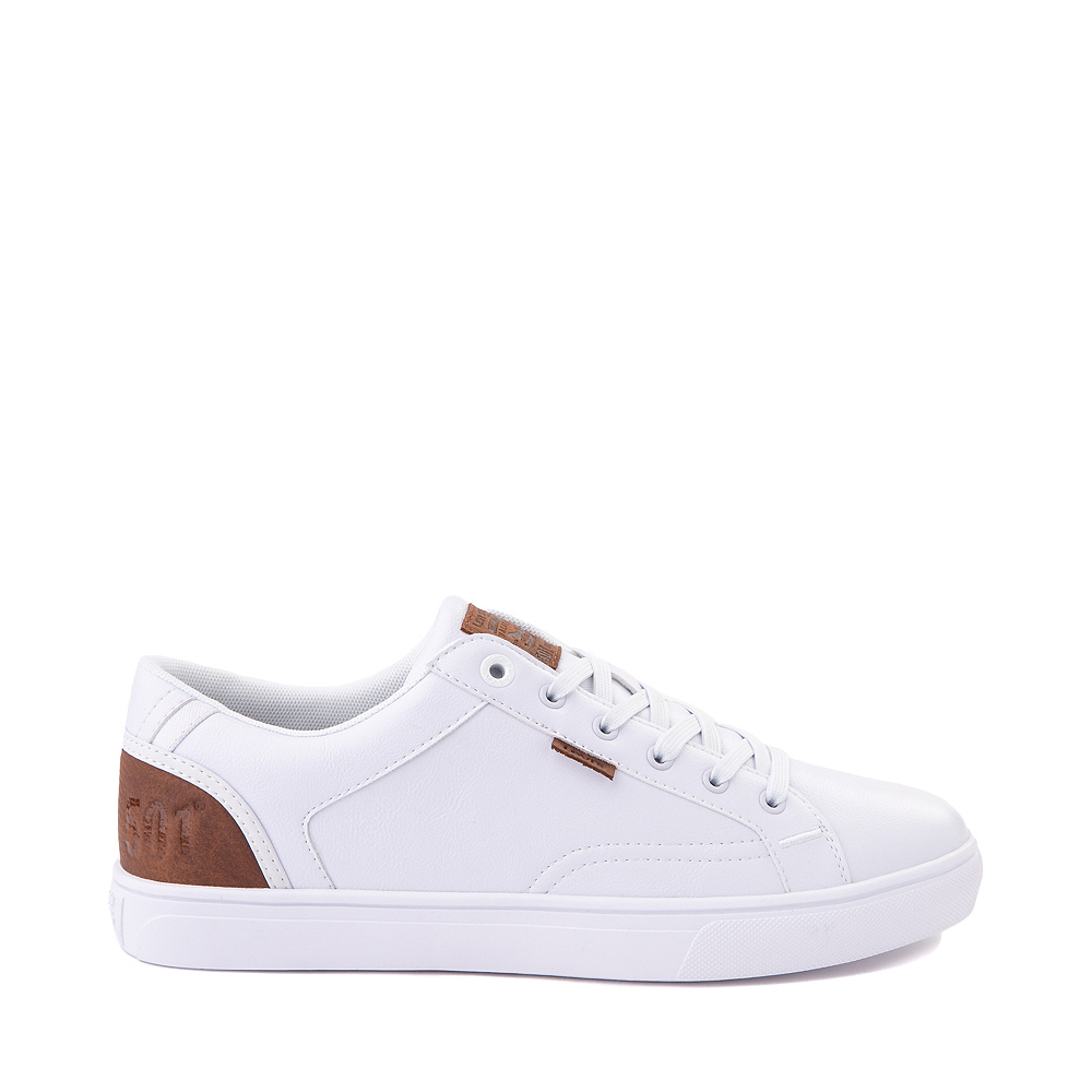 Mens Levi's 501® Jeffrey Casual Shoe - White
