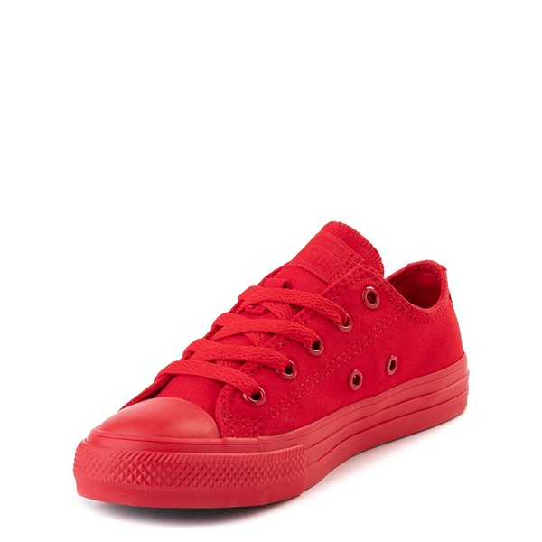 alternate view Converse Chuck Taylor All Star Lo Sneaker - Little Kid - Cherry MonochromeALT2