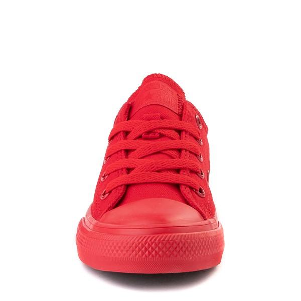alternate view Converse Chuck Taylor All Star Lo Sneaker - Little Kid - Cherry MonochromeALT4