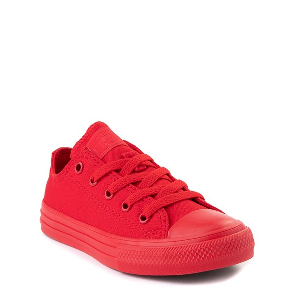 alternate view Converse Chuck Taylor All Star Lo Sneaker - Little Kid - Cherry MonochromeALT5